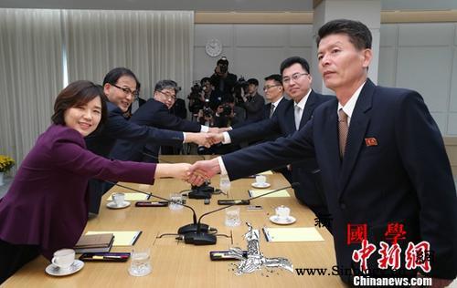 朝韩首次在共同联络事务所会谈韩媒:工_开城-山林-会谈-