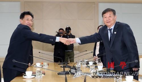 韩媒:韩朝商定致函奥委会表明合办20_开城-国际奥委会-会谈-