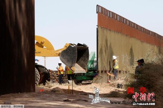 美墨边境墙得州段获准上马:1.45亿_墙体-美国-加利福尼亚州-