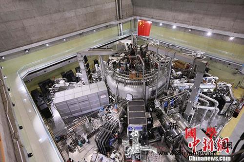 """中国""""人造小太阳""""实现电子温度1亿摄_稳态-聚变-等离子体-"""
