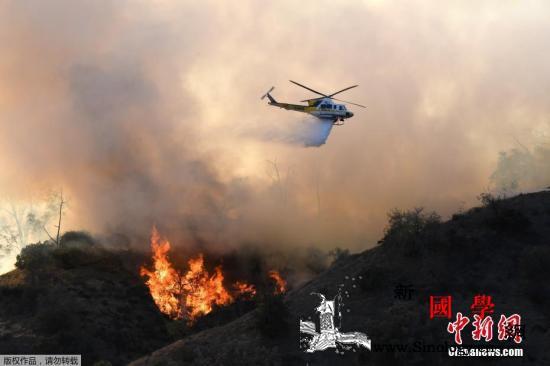 美加州大火死亡人数升至48人专家称灾_加州-山火-升至-