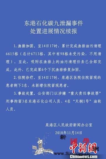 """泉州碳九泄漏事故7人涉嫌""""重大责任事_东港-泉州市-责任事故-"""