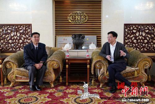 朝鲜记者同盟中央委员会代表团访问《中_朝鲜-代表团-同盟-