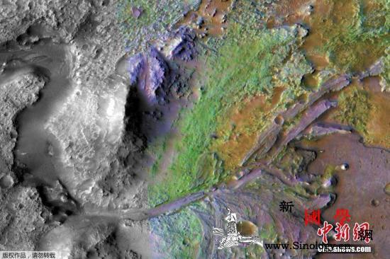 """美""""火星2020""""漫游车将着陆耶泽洛_火星-航天局-着陆-"""
