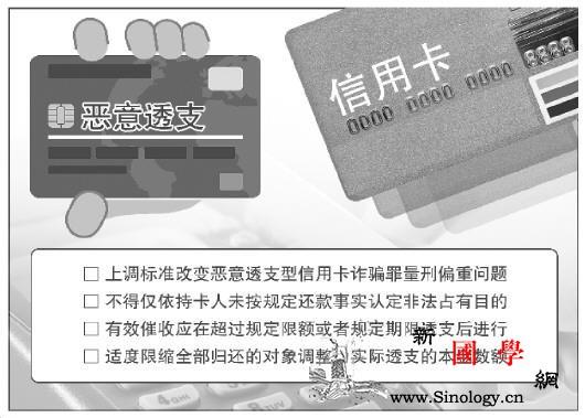 恶意透支信用卡诈骗罪数额上调5倍调整_非法占有-催收-目的-
