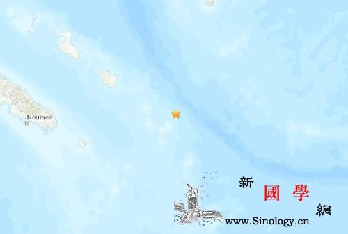 南太平洋洛亚蒂群岛附近7.5级地震发_美国-群岛-海啸-