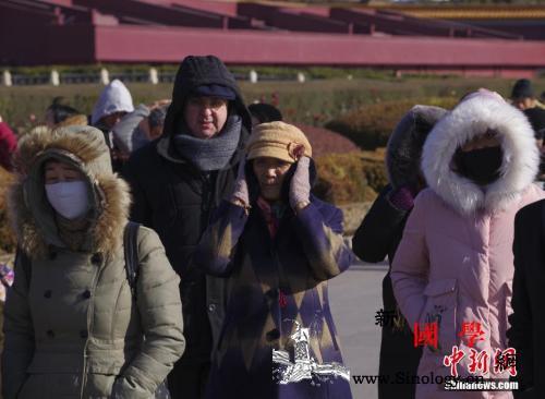 寒潮天气致半个中国降温超12℃多地低_喀什市-寒潮-降温-