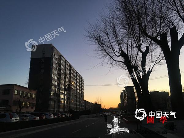 北京阵风达6级气温触底反弹16日升至_防寒-时风-回升-