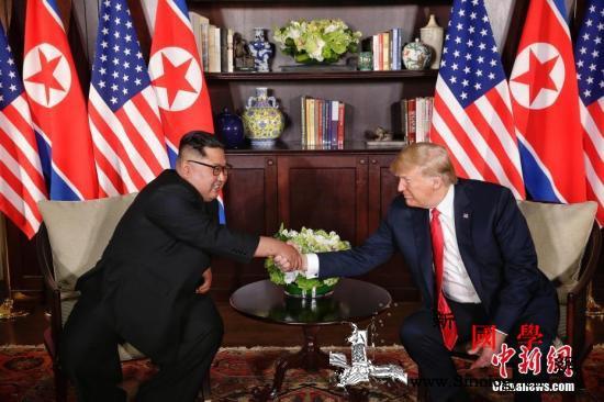 蓬佩奥:美方希望第二次特金会在201_朝鲜-美方-会晤-