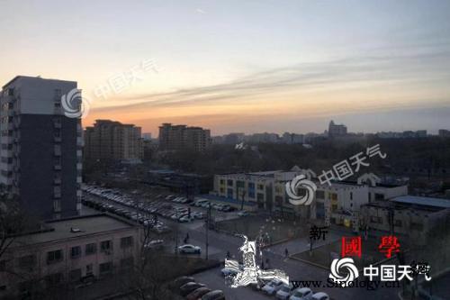 北京6-7级阵风吹袭最高气温2℃明开_海淀区-冷空气-阵风-