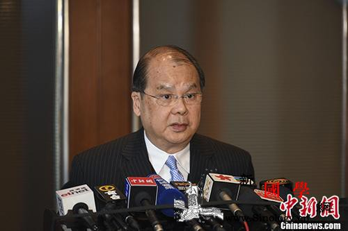 张建宗:香港治安秩序位列全球第4警队_刑事案件-司长-香港-