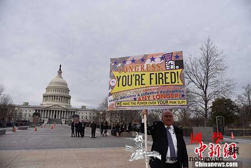 美国联邦政府停摆刷新历史最长纪录_民主党-停摆-联邦政府-