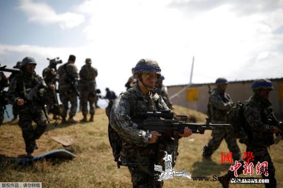 韩国防白皮书:2018年韩美联演次数_国防部-鹞鹰-韩国-