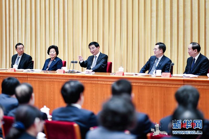 全国宣传部长会议在京召开王沪宁出席_宣传部长-党中央-沪宁-思想-