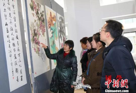 """海峡两岸书画精品兰州展出""""文化为媒_兰州-甘肃-海峡两岸-展出-"""