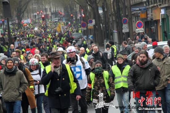 """受够了!法国人准备放""""大招""""上街对_巴黎-法国-示威-"""