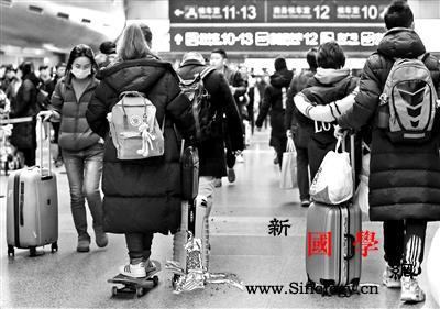 春运高峰临近北京三大火车站今天将发送_北京铁路局-三大-进站-
