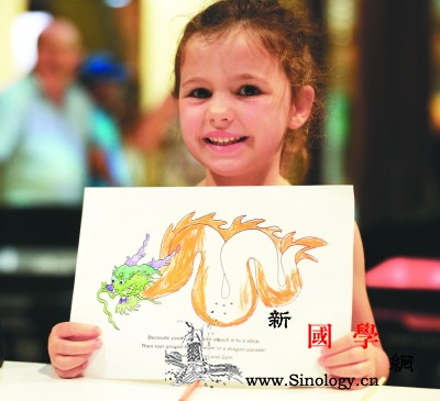 新西兰儿童绘出缤纷中国龙和兵马俑_惠灵顿-孩子们-兵马俑-国家博物馆-