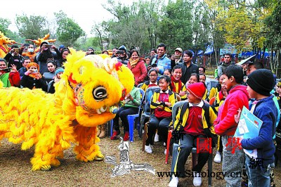 """尼泊尔""""欢乐春节庙会""""热闹开锣_加德满都-尼泊尔-庙会-兴文-"""