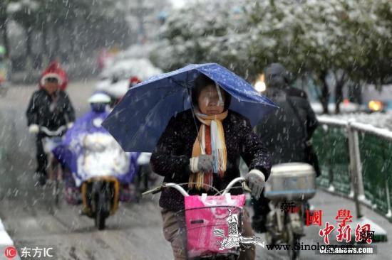 冷空气将影响江淮江南等地西藏南部将有_降雪-等地-较强-