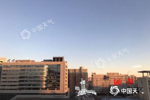 北京周日蓝天相伴宜出行下周升温持续最_北京-气温-气象台-
