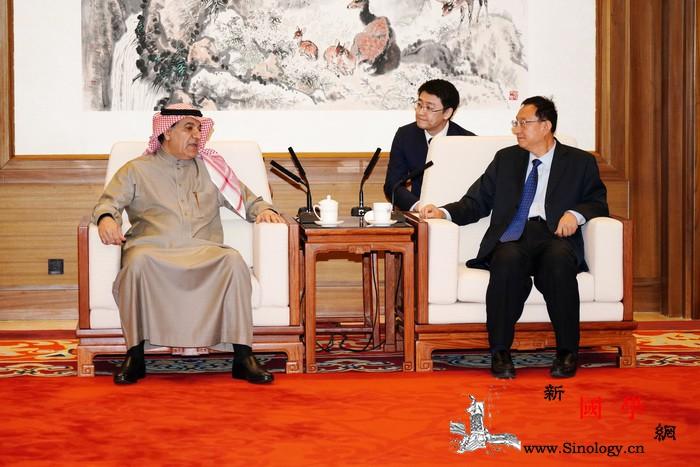 文化和旅游部长雒树刚会见沙特新闻大臣_沙特-图拉-合作-文化-