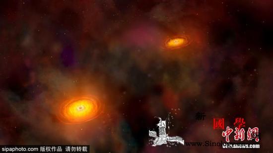 人类首张黑洞照片年内将面世黑洞将揭神_面世-望远镜-黑洞-