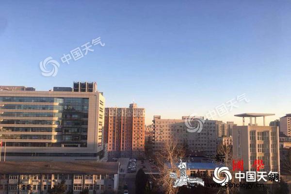 """北京今日阵风可达7级蓝天""""上线""""最高_北京-气温-晴转多云-"""