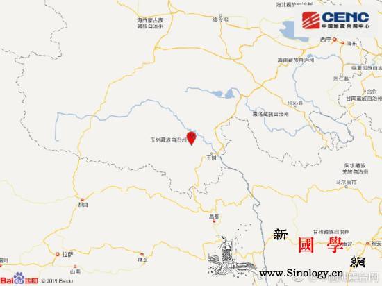 青海玉树州玉树市发生3.8级地震震源_玉树-台网-震源-