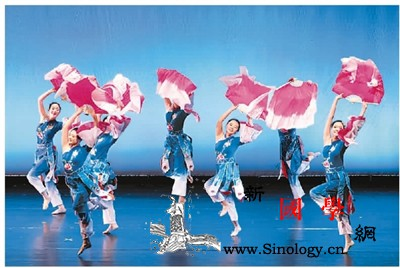 """哥大首届中国舞展""""镜花水月""""收官_哥伦比亚-镜花水月-首届中国-舞蹈-"""