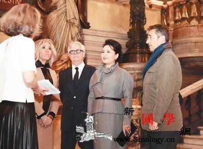 彭丽媛参观法国巴黎歌剧院_芭蕾舞团-巴黎-歌剧院-歌剧-
