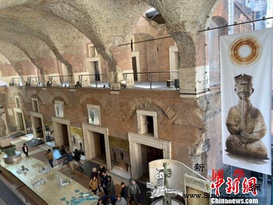 """""""三星堆:人与神的世界-;-;四川古_罗马-意大利-图为-展览-"""