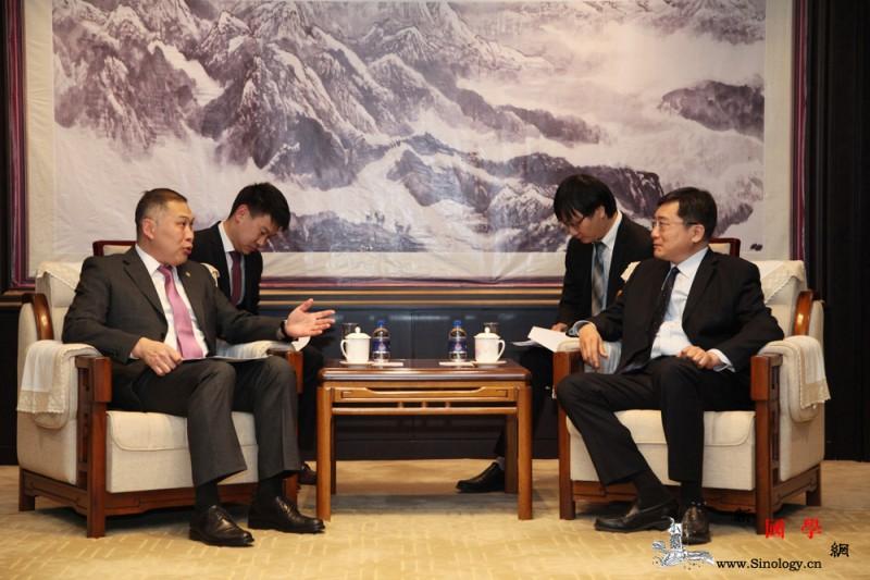 文化和旅游部副部长会见哈萨克斯坦驻华_哈萨克斯坦-驻华-山水相连-合作-