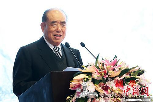 101岁台湾前行政机构负责人郝柏村身_台湾-图为-联合报-