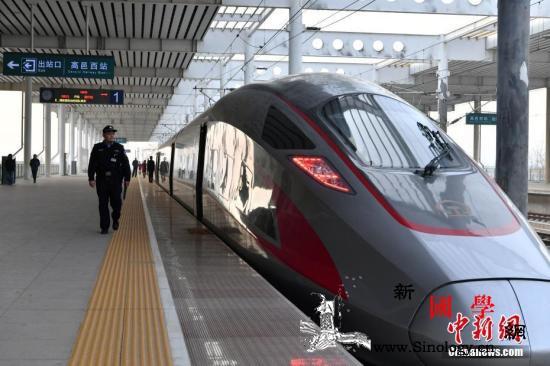 """铁路助力旅客""""五一""""假期方便出游高铁_旅客-出游-列车-"""