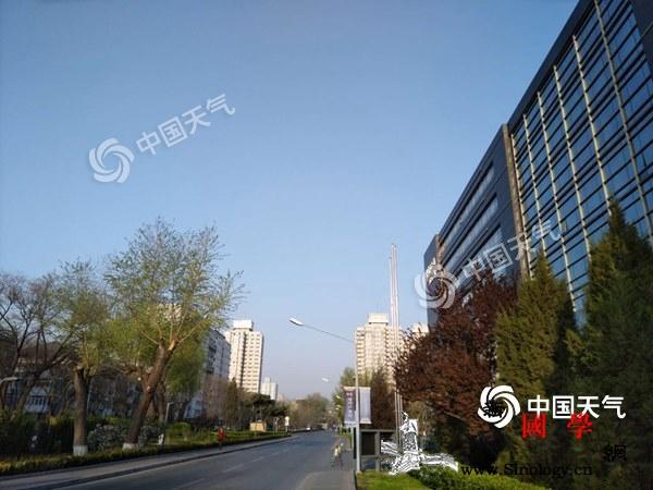 今天北京大风呼呼吹山区有阵雨下周二断_阵雨-北京-南风-