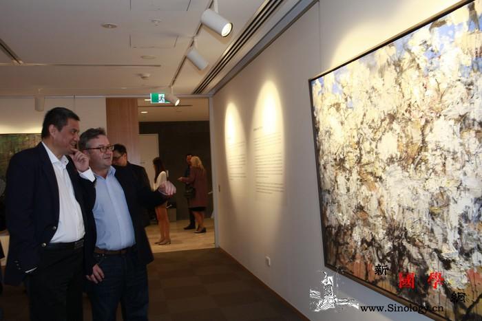 """第四届""""中国当代艺术月""""在悉尼开幕_悉尼-澳洲-文化中心-艺术-"""
