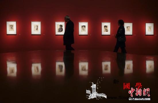 靳尚谊捐赠作品展亮相中国美术馆经典_塔吉克-美术馆-捐赠-鲁迅-