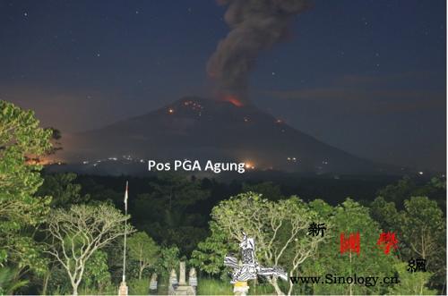 巴厘岛阿贡火山再次喷发中领馆吁中国公_印度尼西亚-喷发-巴萨-