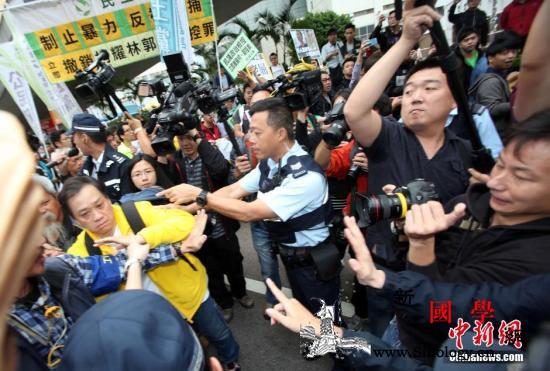 """香港政界人士斥美涉""""占中""""案言论:中_香港-占领区-言论-"""