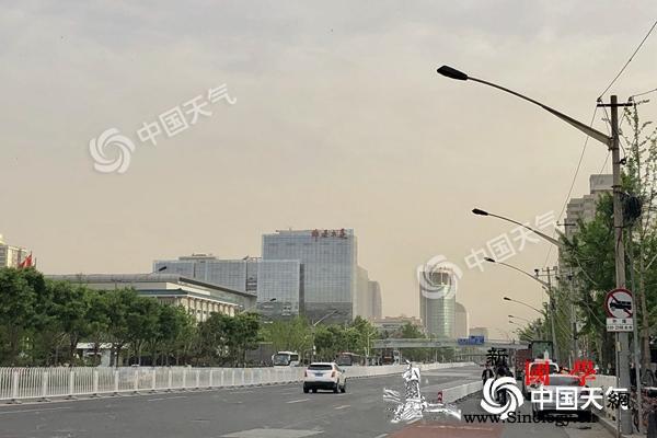 北京今天阵风7-8级局地有扬沙小长假_扬沙-车流-风力-