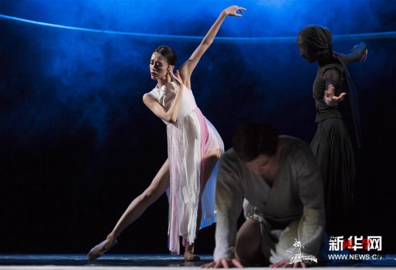 中国大型芭蕾舞剧《唐寅》在拉脱维亚上_拉脱维亚-里加-芭蕾舞团-舞剧-