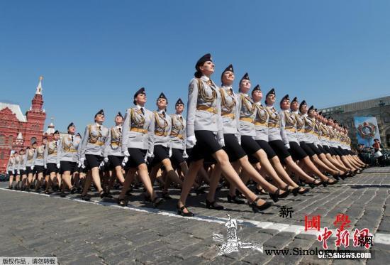 俄罗斯今将在红场举行卫国战争胜利74_卫国战争-莫斯科-红场-