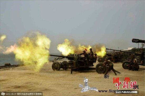 金正恩再次指导朝鲜军队火力打击训练_朝鲜半岛-朝鲜-火力-