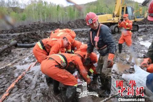 黑龙江逊克铁矿透水事故又有一人获救仍_透水-黑龙江-获救-