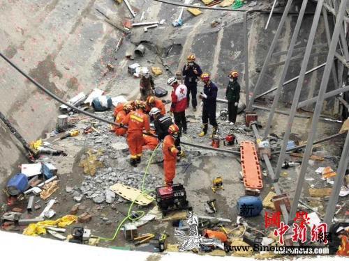 应急管理部:广西百色楼顶坍塌事故已救_坍塌-救出-楼顶-