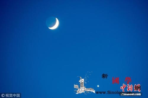 """木星土星接踵追月:""""行星合月""""天象扎_三星-天象-木星-"""
