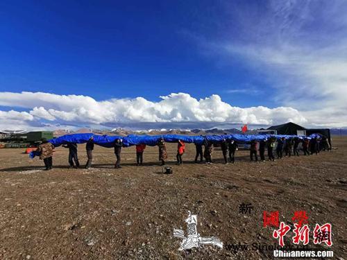 中科院空天院浮空器创造海拔7003米_青藏高原-极目-升空-