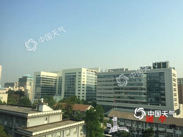 35℃!北京高温黄色预警中夜间起雷阵_预警-北京-夜间-