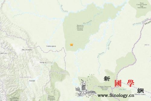 秘鲁北部地区发生8级左右强震周边多国_厄瓜多尔-震感-震源-